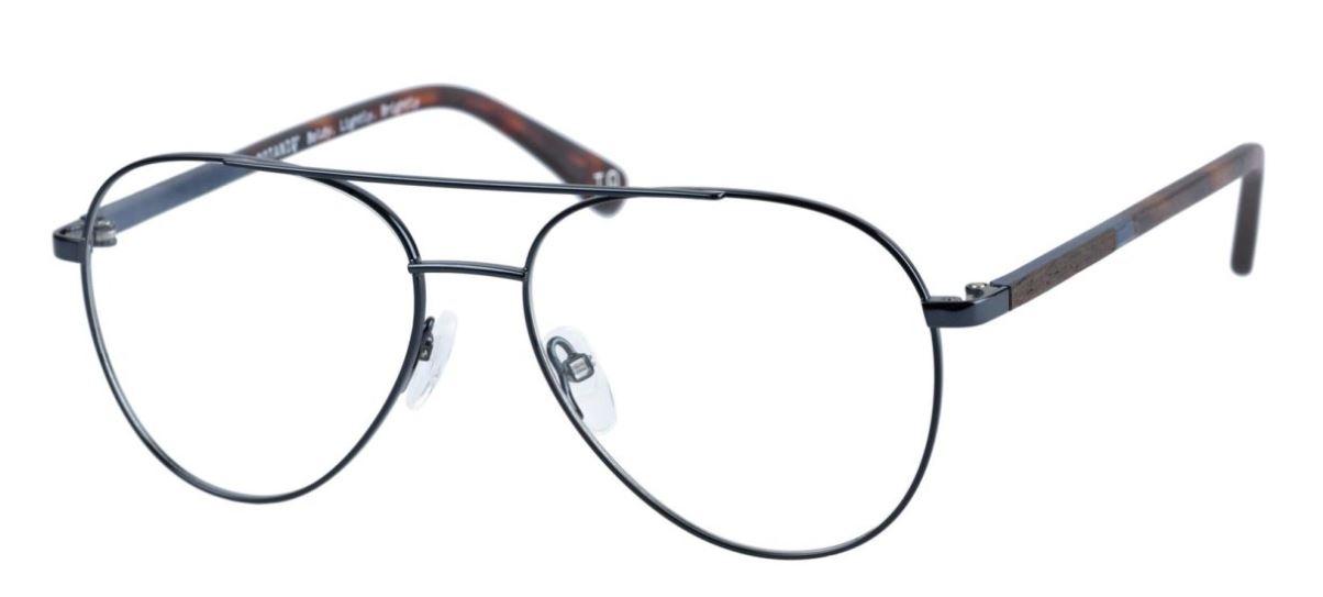 Beispiel einer nachhaltigen Brille der Firma Botaniq